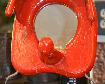 Repurposed Child's Mirror Potty Chair