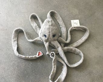 Emillie the JellySquid: Soft Sculpture Stuffed Animal