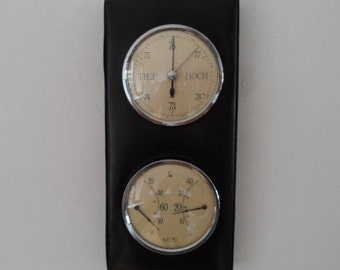 Lufft luxury weather station,hygrometer,barometer,temperature,humidity gauge,temperature gauge,wall weather station,Vintage weather station