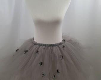 Spider Queen Tutu Bustle, Spider Queen Bustle, Spider Queen Tutu, Spider Costume, Halloween Costume, Spider Tutu, Adult Spider Tutu, Spiders