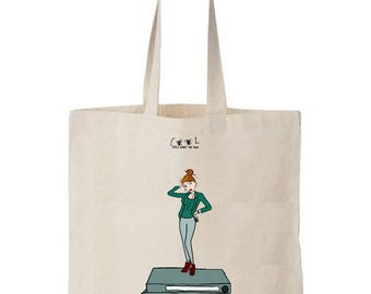 Overbooked Tote Bag