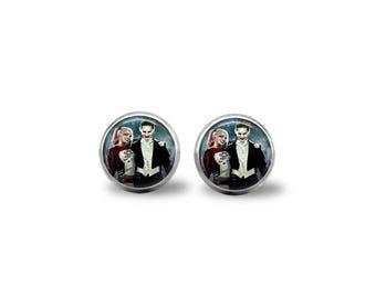 Joker & Harley Quinn Movie Earrings