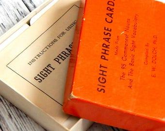 Vintage Flash Cards. Vintage Cards. Journal Supply. Old Flash Cards. Scrapbook Ephemera. Junk Journal Paper. Vintage School. Embellishment.