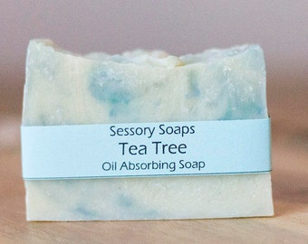 Tea Tree Essential Oil Shea Butter Bar Soap