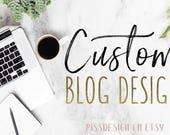 WEEKEND SALE! Custom Blog Design for Wordpress and Blogspot Blogs - Blog Design / Custom Blog Designs / Custom Blogs / Wordpress Blog