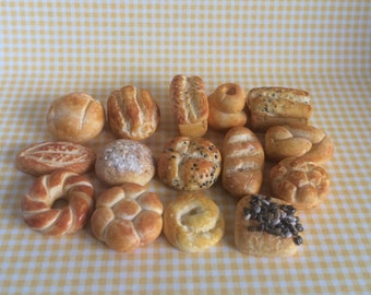 Dolls House Miniature  Bread  (A) - Handmade