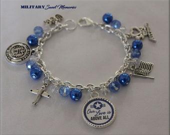 Air Force Wife Bracelet