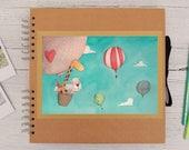 Il mio primo album - Album fotografico bambino con illustrazione, personalizzabile, per nascita, battesimo, compleanno