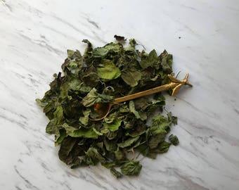 Organic Chocolate Mint Tea. Loose Leaf Tea. All Natural. Vegan Friendly. Dried Herbs. Dried Tea