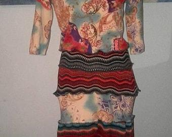 Artsy Clothing,Boho Chic,Long Maxi Dress,Upcycled Dress,Bohemian,Refashioned,Hippie,Sweater Dress,Womens Clothing,Free People,Katwise