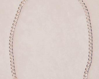 Double Silver Tube Bracelet