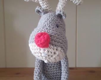 Pretzal Headz Reindeer pattern
