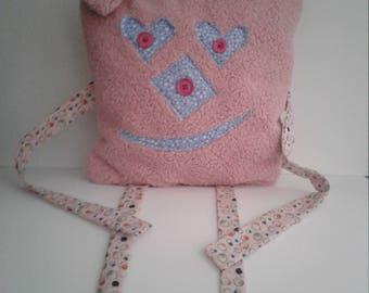 Sweet madness, plush, cuddly, child gift cushion