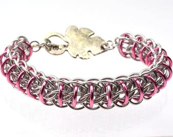 Chainmaille Kit: Fire Wyrm - Bracelet Kit - Aluminum - Advanced - Instructions sold separately