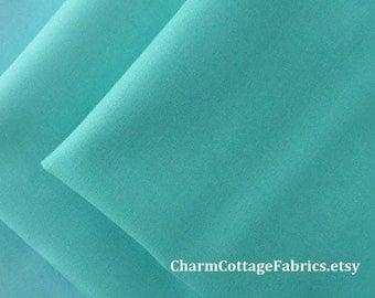 SALE Coastal Colors Fat Quarter Bundle of 3 Coastal Colors Bella Solids Blue Bermuda Peacock / Turquoise 100% Quilter's Cotton
