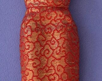 Vintage Barbie Golden Elegance Sheath Dress, Near Mint