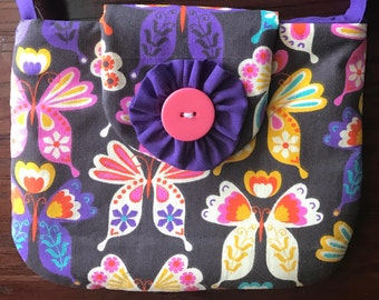 child purse, bag, butterfly