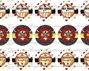 Firefighter Bottlecap Images