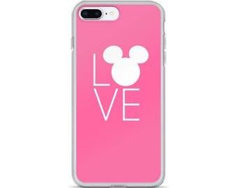 Love Mickey iPhone Case