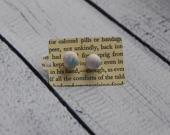 Polymer Sphere Earrings
