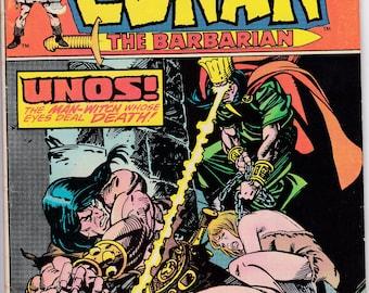 Conan the Barbarian Issue #51 - Marvel Comics - June 1975 - Grade G