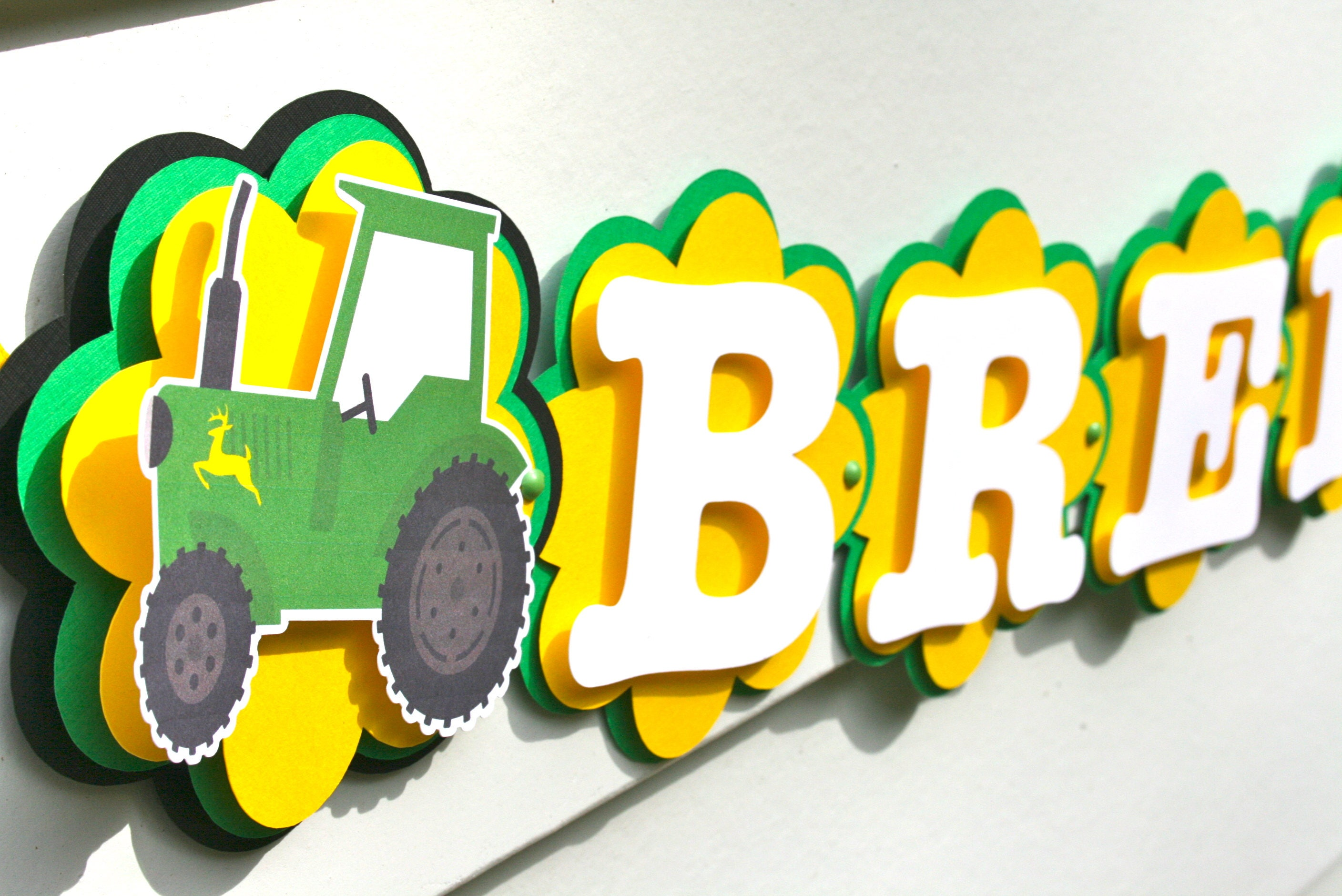 John Deere Party Decorations - Green Tractor Party Decorations ...