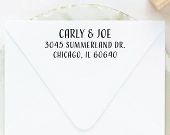 Return Address Stamp, Self Inking Stamp, Pre Inked Stamp, Wedding Address Stamp, Custom Address Stamp, Address Stamp Self Ink