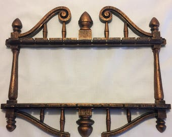 Vintage Coppercraft Guild Spoon Rack