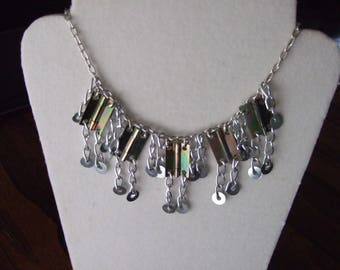 Necklace with industrial elements 2