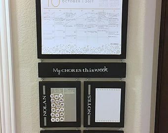 Chore Chart- Personalized with Calendar- Large