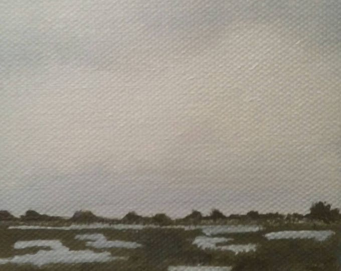 Salt Marsh - Oil Painting