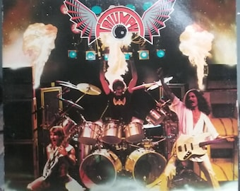 Triumph, Rock & Roll Machine, Vintage Record Album, Vinyl LP, Classic Rock and Roll Music, Heavy Metal, Canadian Hard Rock Band