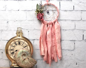 Pink Mini Dream Catcher- Rearview Mirror Dream Catcher