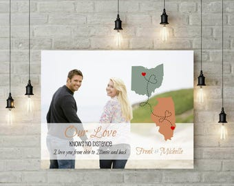 Wedding Anniversary Gift | Custom Photo Quote | Engagement Gift | Wedding Gift For Groom | Gift For Bride | Valentines Day Gift - 60277