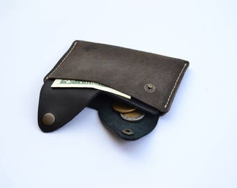 "leather wallet, card holder, card wallet, card sleeve,""maxi"" minimalist wallet, gift wallet, cash wallet, travel wallet,business card holder"