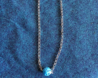 Delicate Glass Bead Necklace