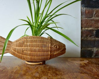 Fish Shaped Basket - great for plants!