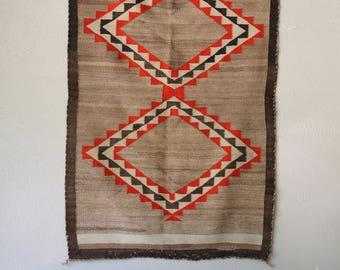 Vintage Navajo Rug - 19th Century