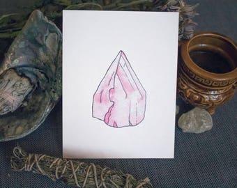 Rose Quartz Print