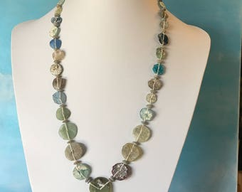 Roman Glass Beads Ancient Antique OOAK    RG-137