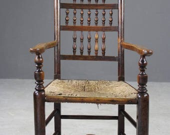 Antique Lancashire Elbow Chair