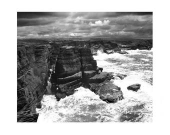 black and white photography, irish photography, ireland photography, Valentia island, ireland, prints, black and white landscape photography