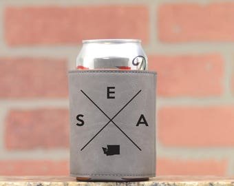 Seattle | Can Cooler - Custom Can Coolers - Beer Cozy - Seattle Washington