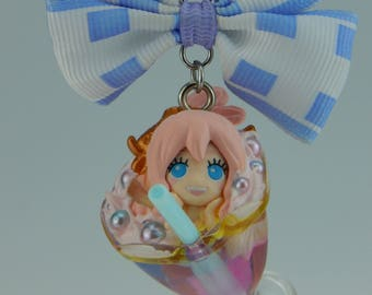 One piece Shirahoshi Hime cocktail necklace