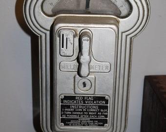 Vintage Miller Parking Meter