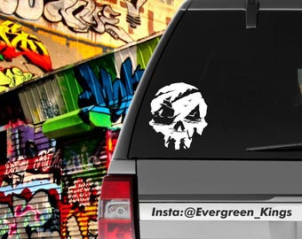 Sea Of Thieves Pirate Decal 6 inch Pick a Color