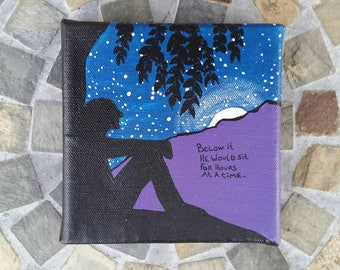 """DMB """"Dreaming Tree"""" Inspired Original Painting by PonderMonster"""