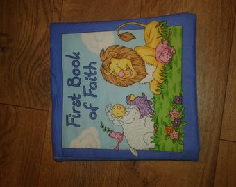 First book of faith book- baby fabric book - Cloth Book - Baby Book