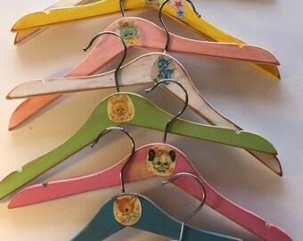 Baby hangers, vintage heirloom