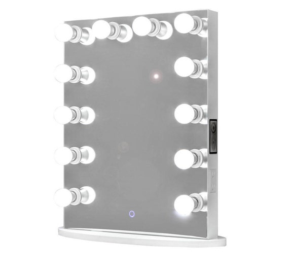 bluetooth hollywood forever lighted vanity mirror w touch. Black Bedroom Furniture Sets. Home Design Ideas
